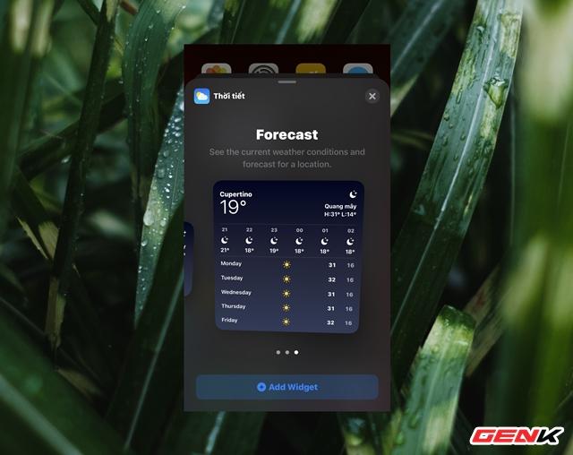 iOS 14: Cách thêm và tùy biến Widget ở màn hình Homescreen - Ảnh 6.
