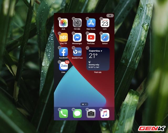 iOS 14: Cách thêm và tùy biến Widget ở màn hình Homescreen - Ảnh 8.