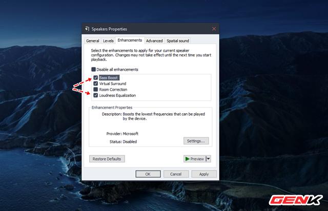 Cách để bạn tăng cường tiếng bass cho loa và tai nghe trong Windows 10 - Ảnh 5.