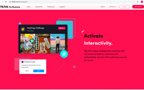 TikTok cấp tập ra mắt các nền tảng mới nhằm đẩy mạnh mảng kinh doanh: Vừa ra mắt TikTok For Business, đang thử nghiệm Creator Marketplace tại Việt Nam - Ảnh 1.