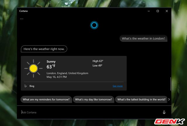 Đã có thể tháo gỡ hoàn toàn Cortana ra khỏi Windows 10 ở bản cập nhật mới - Ảnh 1.