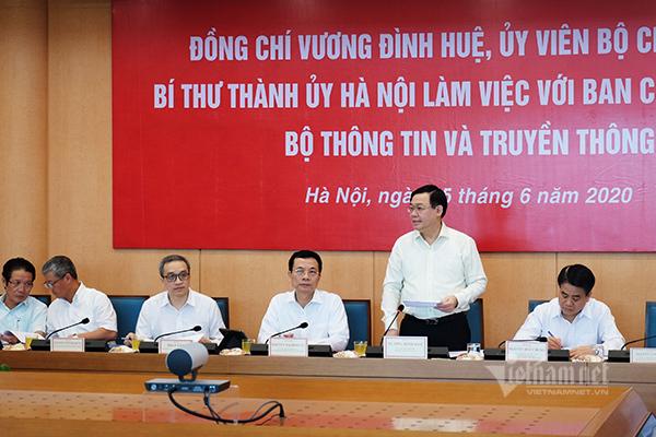 Siêu kế hoạch để Hà Nội phát triển đột phá bằng công nghệ - Ảnh 8.