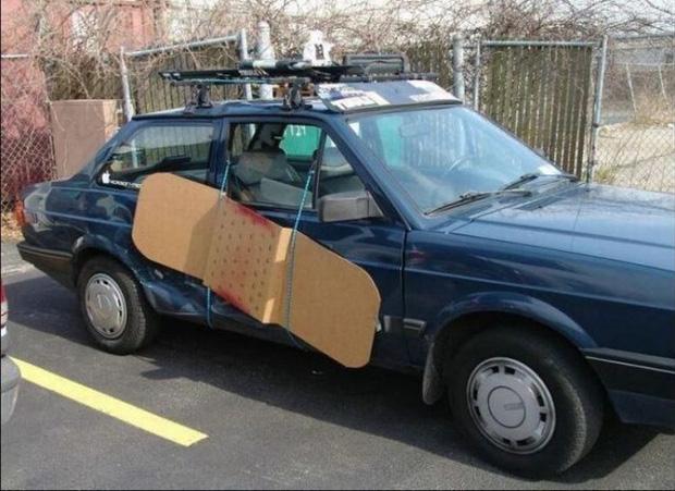Ấn tượng cách sửa xe 1, ấn tượng băng urgo khổng lồ chắc phải 10!