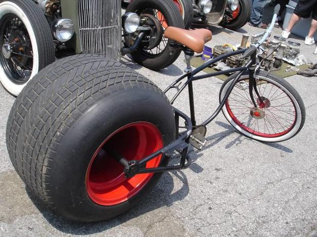 """Chiếc xe đạp sẵn sàng """"cào nát"""" mọi con đường!"""