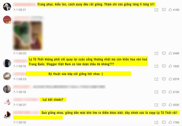 """Nghi vấn một kênh Youtube Việt Nam """"đạo nhái"""" Lý Tử Thất bị netizen Trung Quốc lên án gay gắt, lọt hẳn top 1 tìm kiếm weibo - Ảnh 2."""