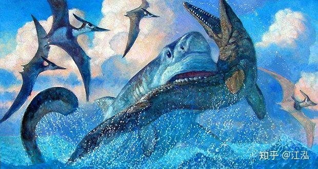 Bằng chứng khảo cổ cho thấy cá mập cổ đại đã phi lên khỏi mặt nước để tấn công thằn lằn bay - Ảnh 7.