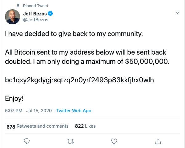 Twitter của Elon Musk, Bill Gates, Jeff Bezos cùng hàng loạt người nổi tiếng khác bị hack trong một vụ lừa đảo bitcoin lớn chưa từng thấy - Ảnh 3.