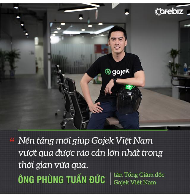 Tân TGĐ Gojek Việt Nam tiết lộ nước cờ mới khi thay đổi GoViet từ team đỏ sang team xanh - Ảnh 9.