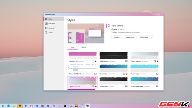 Tự tạo giao diện cho Windows 10 với Stardock Curtains - Ảnh 1.