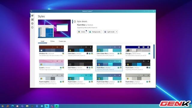 Tự tạo giao diện cho Windows 10 với Stardock Curtains - Ảnh 12.