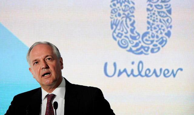 Paul Polman, cựu giám đốc điều hành lâu năm của Unilever.