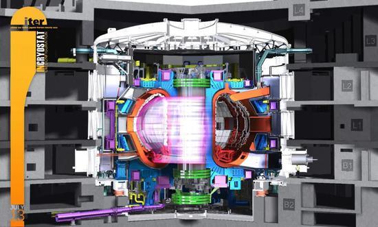 Mặt trời nhân tạo lớn nhất thế giới đã bắt đầu được lắp ráp - Ảnh 2.