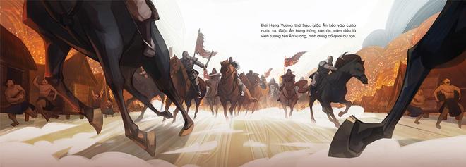 Truyện tranh Thánh Gióng ứng dụng công nghệ thực tế ảo tăng cường - AR gây sốt cộng đồng mạng - Ảnh 9.