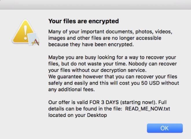 Đừng nghĩ MacOS an toàn, một mã độc tống tiền đặc biệt nguy hiểm đang tấn công hệ điều hành này - Ảnh 3.