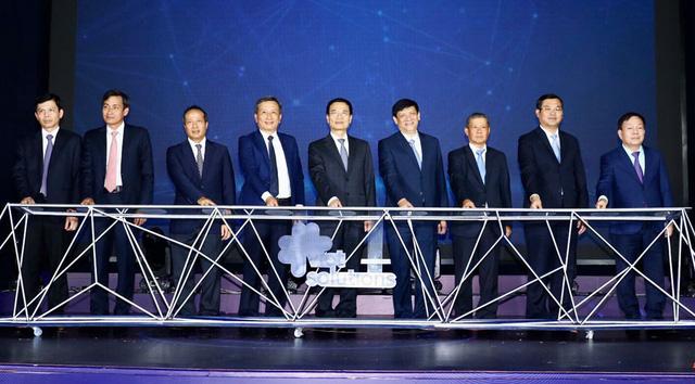 Bộ trưởng Nguyễn Mạnh Hùng: Tìm kiếm giải pháp chuyển đổi số quốc gia để thay đổi thứ hạng Việt Nam - Ảnh 2.