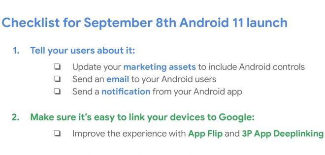 Google vô tình để lộ ngày ra mắt chính thức của Android 11 - Ảnh 2.