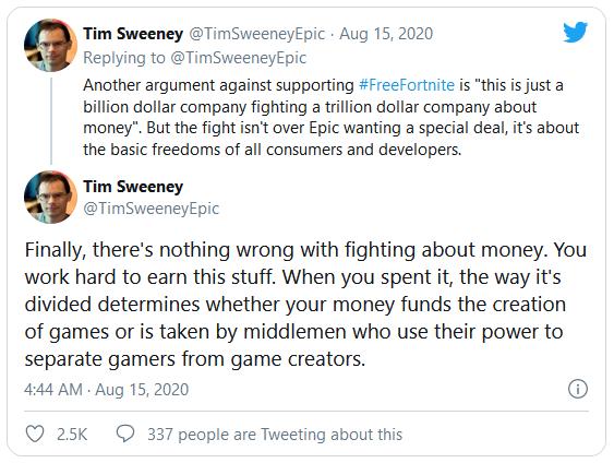 CEO Epic: Chúng tôi chiến đấu với Apple không phải vì tiền - Ảnh 1.