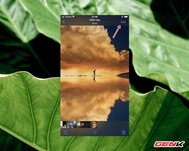 Cách sử dụng kính lúp trong chỉnh sửa ảnh để nhấn mạnh nội dung trên iPhone - Ảnh 2.