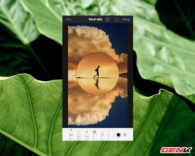Cách sử dụng kính lúp trong chỉnh sửa ảnh để nhấn mạnh nội dung trên iPhone - Ảnh 11.