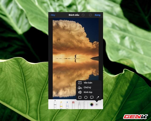 Cách sử dụng kính lúp trong chỉnh sửa ảnh để nhấn mạnh nội dung trên iPhone - Ảnh 6.
