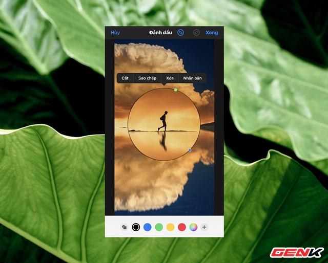Cách sử dụng kính lúp trong chỉnh sửa ảnh để nhấn mạnh nội dung trên iPhone - Ảnh 10.