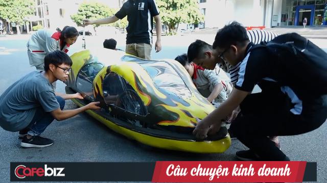 Sinh viên Bách Khoa chế tạo xe siêu tiết kiệm xăng, đi 400km chỉ tốn 1 lít - Ảnh 2.