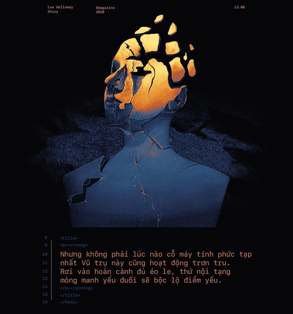 Lee Holloway - Hành trình suy sụp đến chạnh lòng của thiên tài coder trẻ tuổi - Ảnh 4.