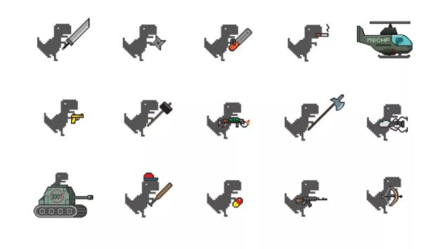 Tựa game Khủng long mất mạng của Chrome nhận được bản mod siêu xịn với 26 món vũ khí lợi hại - Ảnh 2.
