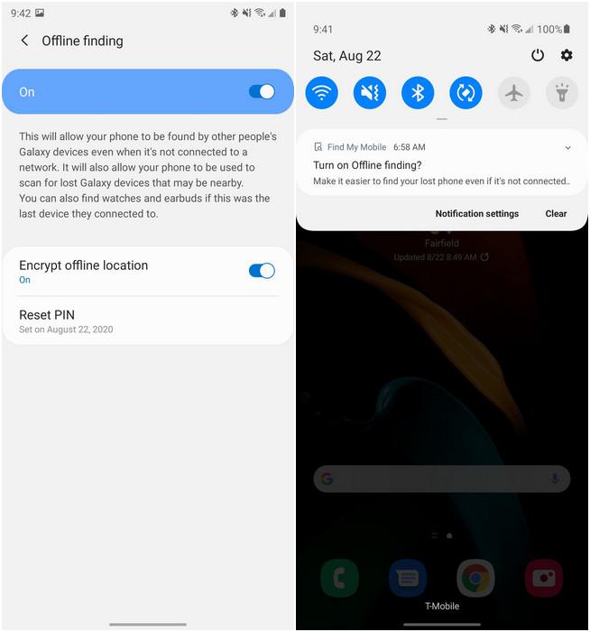 Với Samsung Find My Mobile, bạn sẽ tìm được điện thoại ngay cả khi không có mạng - Ảnh 2.