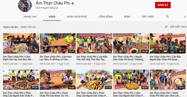 Review cuộc sống ở châu Phi, youtuber Việt đạt 1 triệu đăng ký sau 1 năm, thu nhập vài trăm triệu/tháng, thường xuyên làm từ thiện cho người nghèo - Ảnh 5.