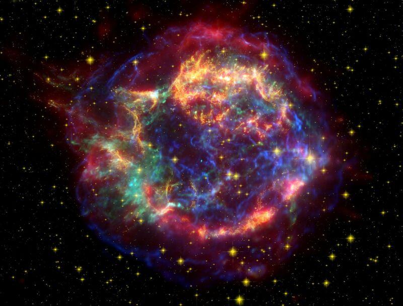 Giả thuyết mới: Một vụ nổ siêu tân tinh từ khoảng cách nhiều năm ánh sáng đã gây nên đại họa tuyệt chủng - Ảnh 1.