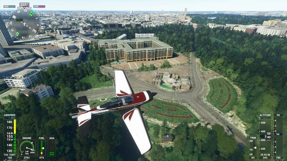 Chỉ vì coder gõ nhầm số, trò chơi giả lập lái máy bay đang hot của Microsoft bỗng xuất hiện tòa tháp cao trăm tầng - Ảnh 3.