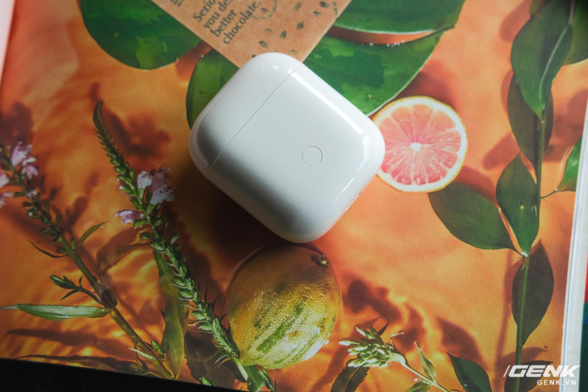 Trên tay tai nghe không dây Realme Buds Air Neo: Thoạt nhìn tưởng AirPods, có điều giá chưa đến 2 triệu đồng - Ảnh 4.