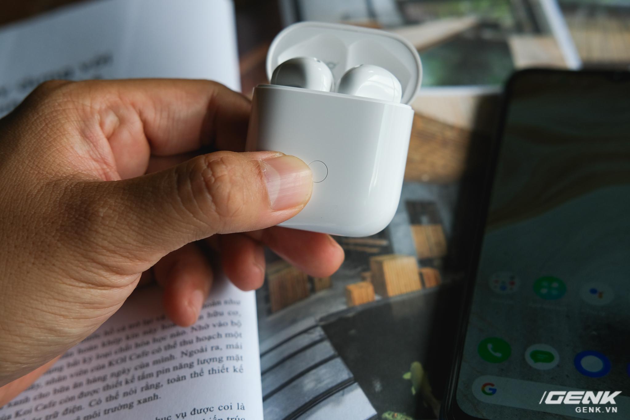 Trên tay tai nghe không dây Realme Buds Air Neo: Thoạt nhìn tưởng AirPods, có điều giá chưa đến 2 triệu đồng - Ảnh 13.
