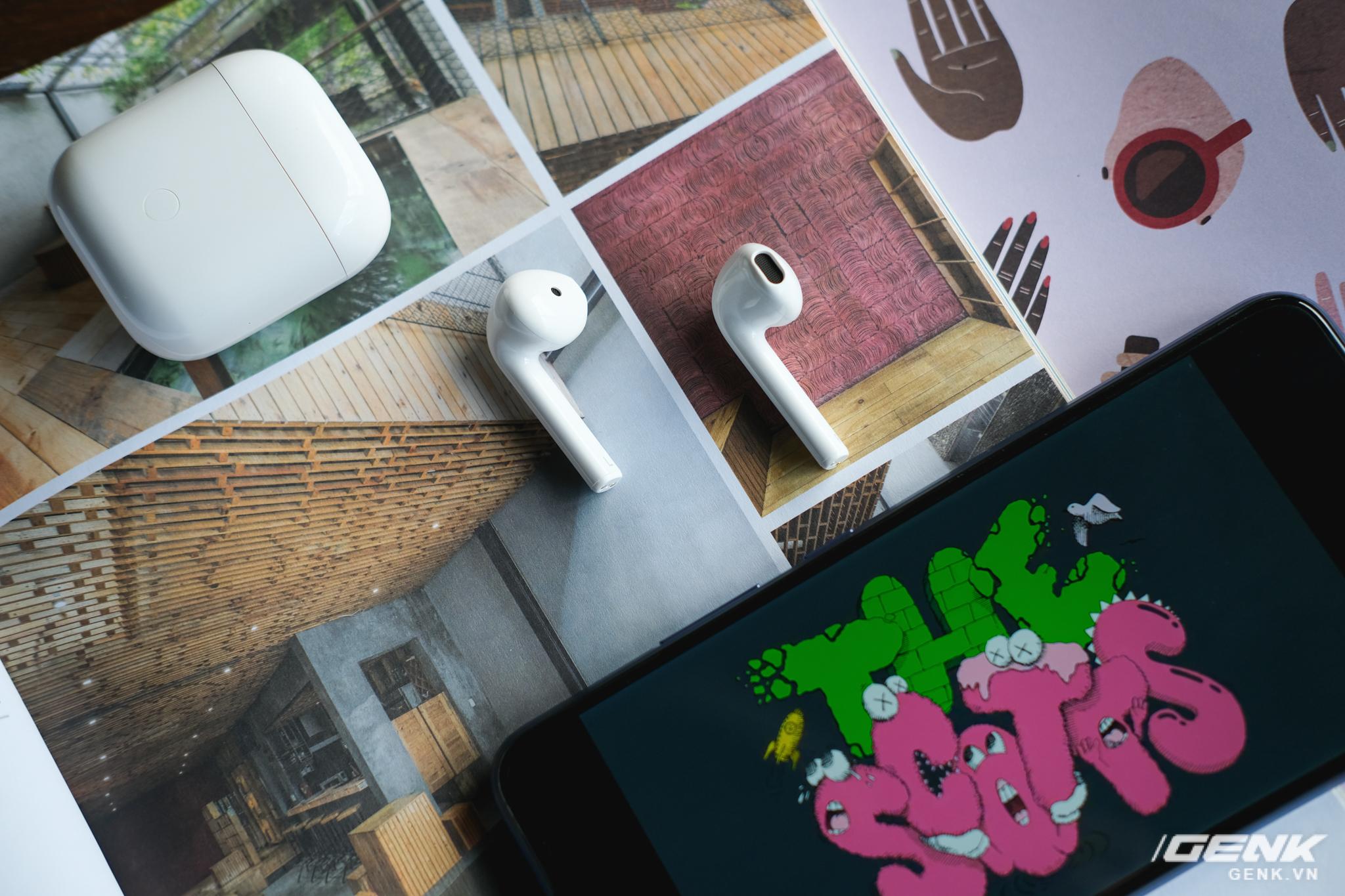 Trên tay tai nghe không dây Realme Buds Air Neo: Thoạt nhìn tưởng AirPods, có điều giá chưa đến 2 triệu đồng - Ảnh 16.