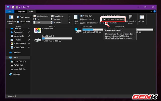 Giấu nhanh tập tin nhạy cảm trên Windows 10 theo cách mà không ai có thể ngờ tới - Ảnh 2.