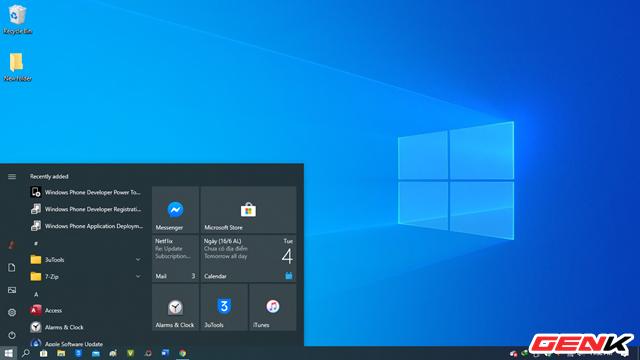 Cách kích hoạt giao diện icon mới trong Start Menu ở Windows 10 - Ảnh 1.