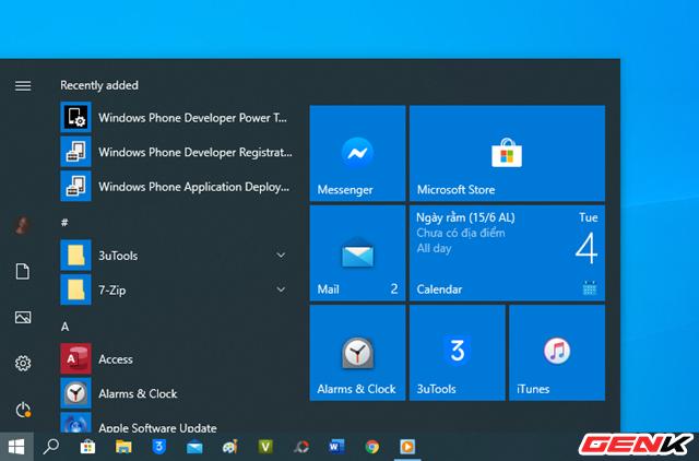 Cách kích hoạt giao diện icon mới trong Start Menu ở Windows 10 - Ảnh 11.