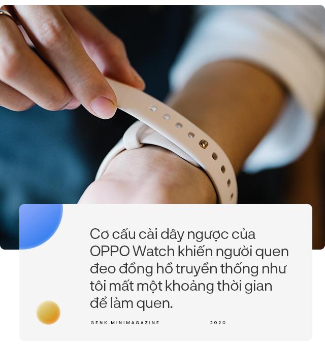 Đánh giá chi tiết OPPO Watch: từ chỗ không cần, không thích đến không thể thiếu - Ảnh 7.