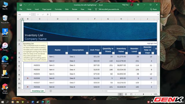 Những phím tắt giúp điều hướng nhanh khi chỉnh sửa dữ liệu trong Microsoft Excel - Ảnh 2.