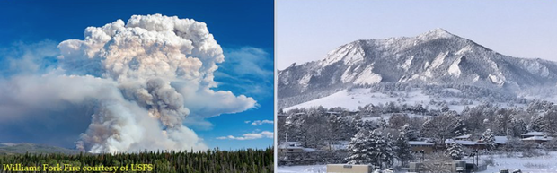 Một tiểu bang Mỹ vừa chứng kiến thời tiết quay xe gắt chưa từng thấy: Từ nóng kỷ lục chuyển thành bão tuyết trong vỏn vẹn 2 ngày - Ảnh 2.