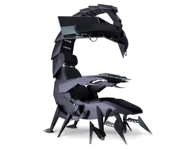 Ghế chơi game hình bọ cạp có thể biến hình đầy ảo diệu - Ảnh 2.