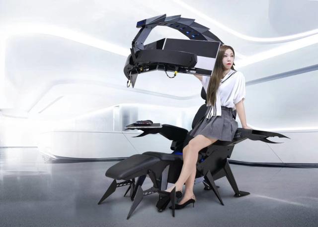 Ghế chơi game hình bọ cạp có thể biến hình đầy ảo diệu - Ảnh 5.