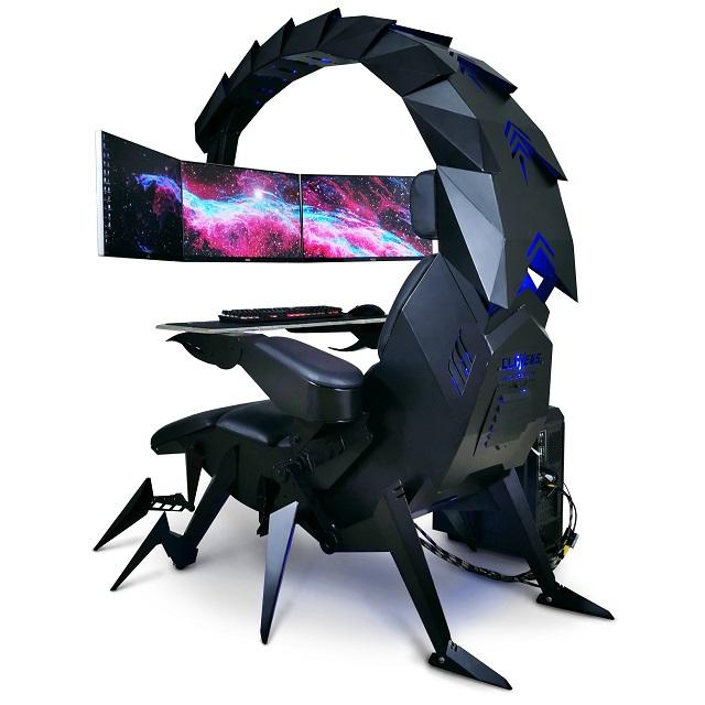 Ghế chơi game hình bọ cạp có thể biến hình đầy ảo diệu - Ảnh 7.