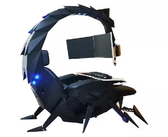 Ghế chơi game hình bọ cạp có thể biến hình đầy ảo diệu - Ảnh 8.