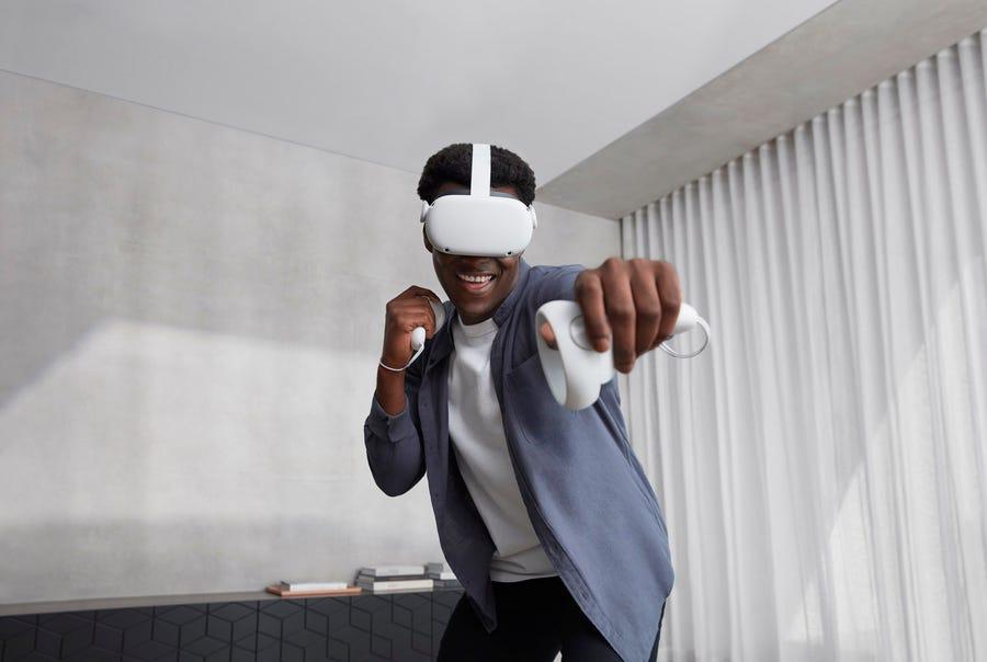 Facebook ra mắt Oculus Quest 2: Kẻ kế nhiệm chiếc kính thực tế ảo thành công nhất của Oculus, giá bán chỉ từ 300 USD - Ảnh 3.
