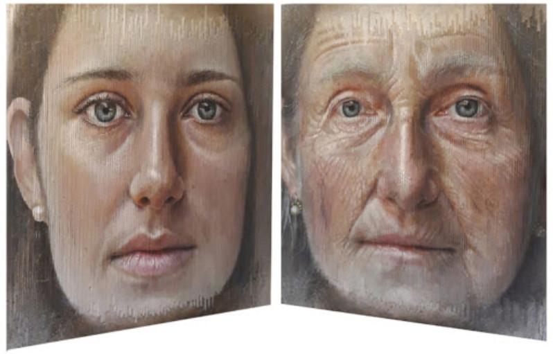Những bức tranh chân dung kỳ lạ khiến người xem ngỡ ngàng vì có nhiều khuôn mặt từ các góc nhìn khác nhau - Ảnh 2.