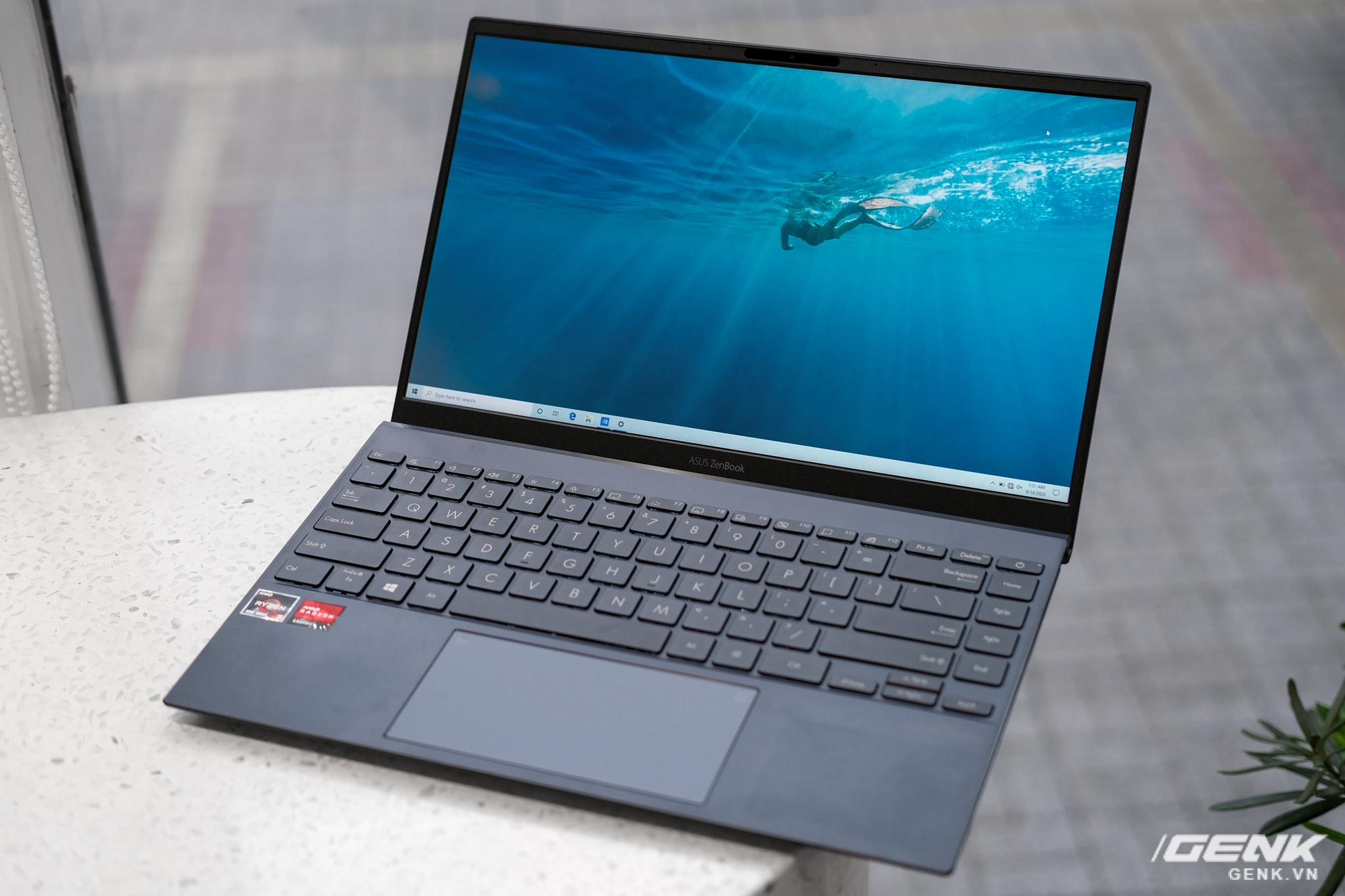 Cận cảnh và trải nghiệm chiếc laptop 14 inch chạy Ryzen Mobile 4000 Series mỏng nhất thế giới đến từ đội ASUS - Ảnh 9.