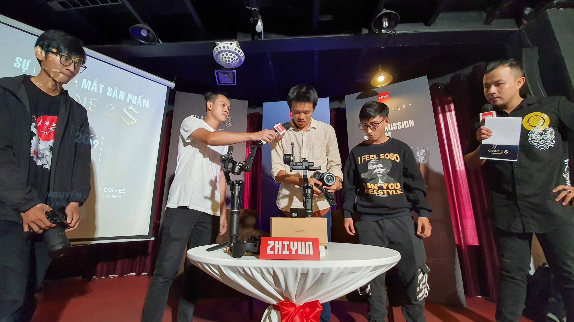 Gimbal Zhiyun CRANE 2S chính thức ra mắt tại Việt Nam: chịu tải lớn, thiết lập linh hoạt, gía 13.9 triệu đồng - Ảnh 6.