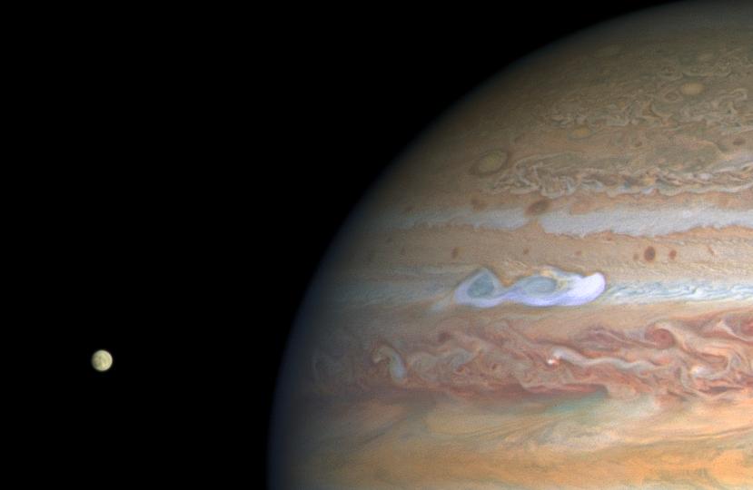 NASA phát hiệu siêu bão khổng lồ có tốc độ 560km/giờ hình thành trên Sao Mộc - Ảnh 2.